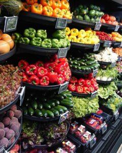 Manavda Satılabilecek Meyve Ve Sebzeler